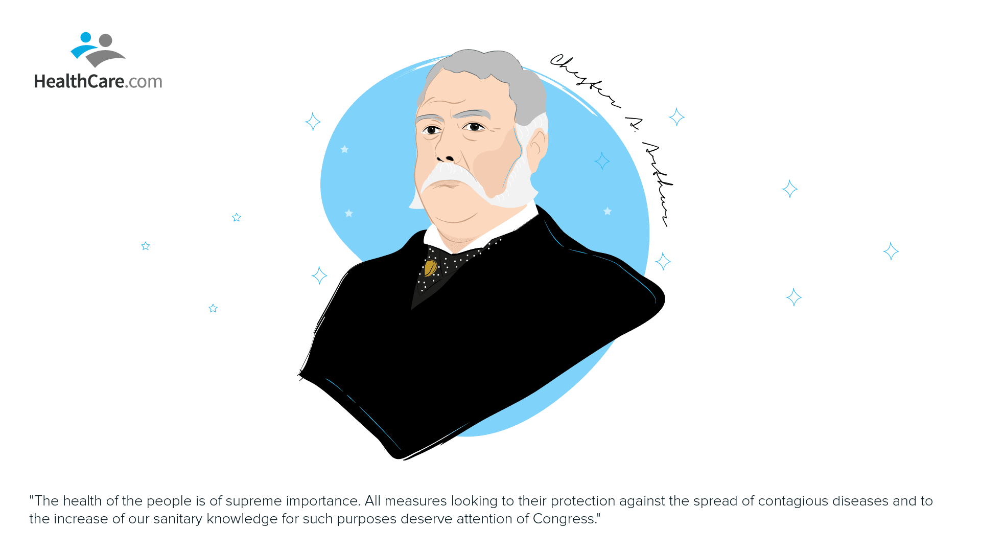 Chester A. Arthur, Presidents Healthcare Quotes | The CheckUp by HealthCare.com