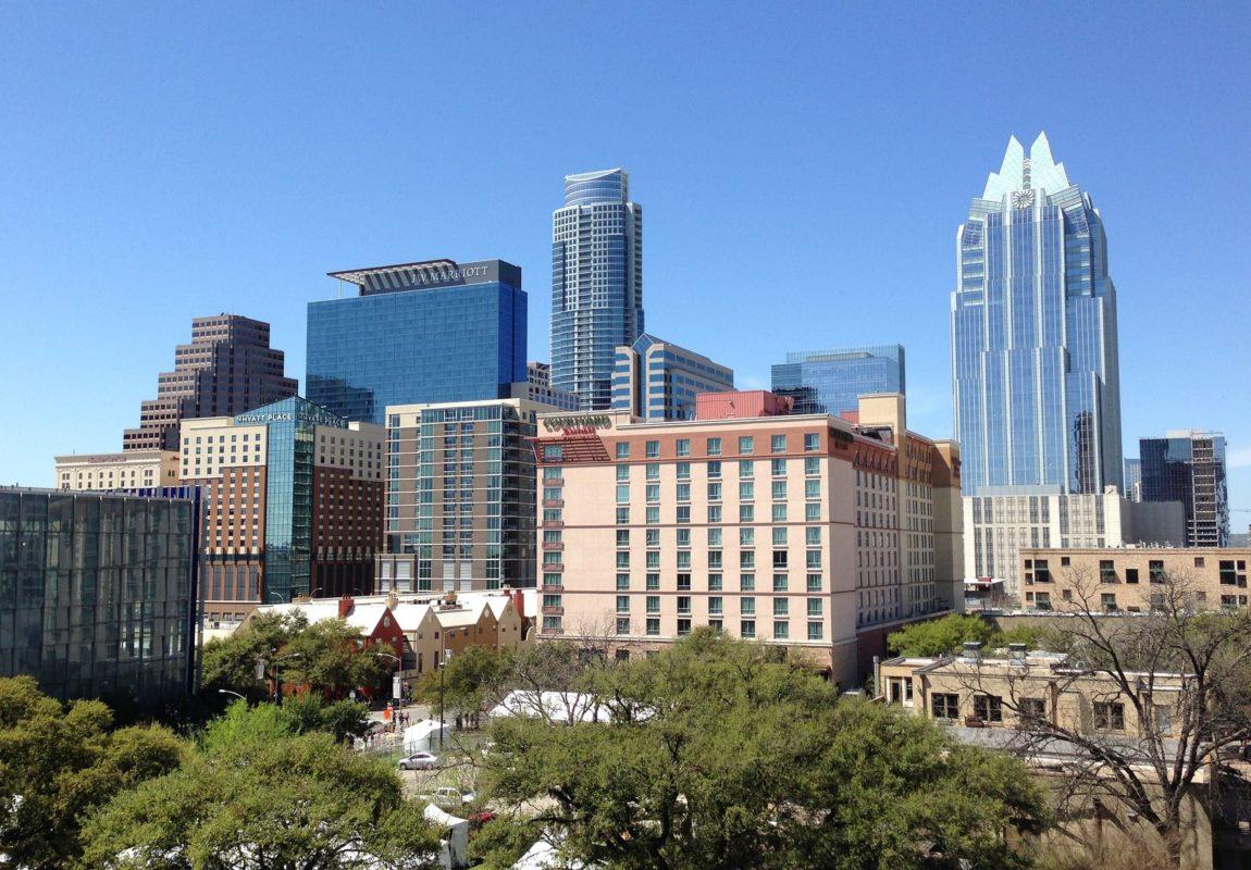 Austin Texas skyline   Sendero Health returns