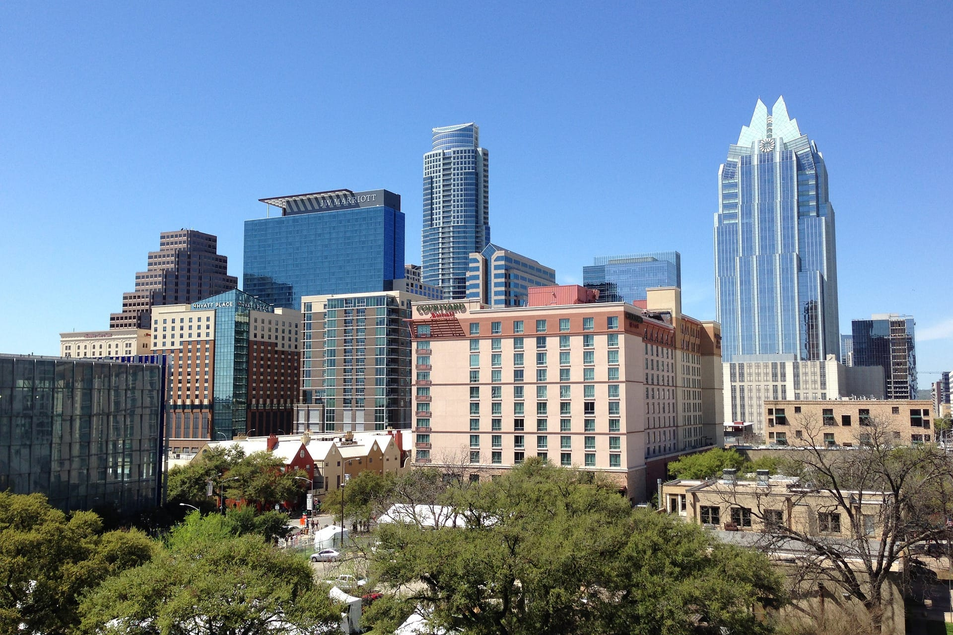 Austin Texas skyline | Sendero Health returns