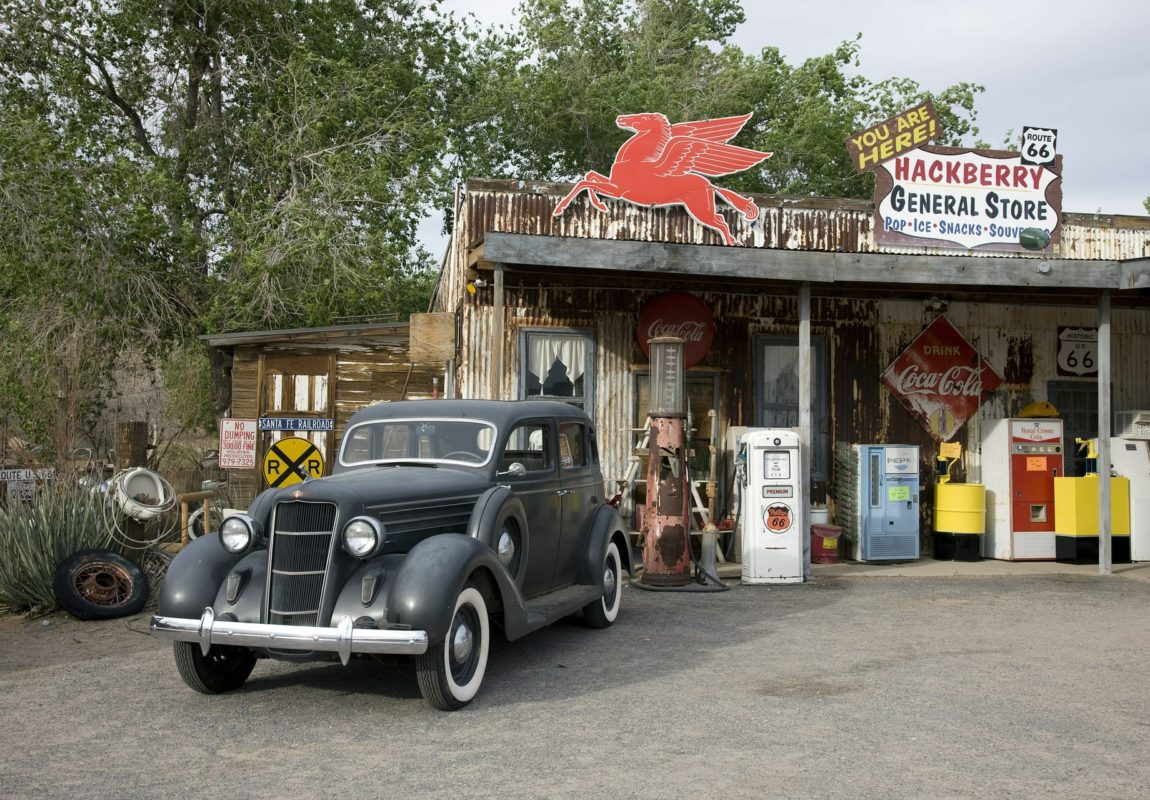 old gas station | fbhp vintage