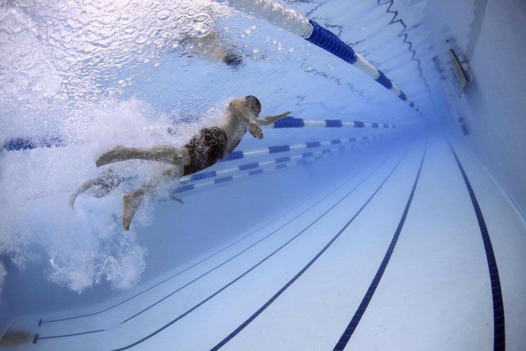 pool short term swimmer