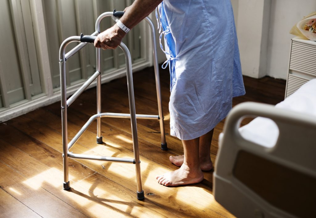 palliative care | person on walker